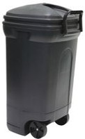 United Comb & Novelty 128.7 Liter Rough & Rugged Trash Can