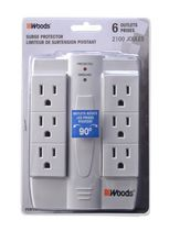 Woods Industries Swivel Surge 6 Outlet