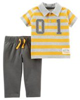 Child of Mine made by Carter's Newborn Boys' 2-piece No 1 Set 18 months