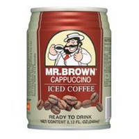 Mr. Brown Canned Cappuccino Iced Coffee