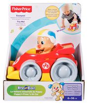 Fisher-Price Laugh & Learn Puppy's Press 'n Go Car - French Edition