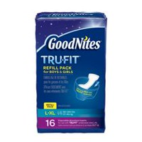GoodNites Tru-Fit Real Underwear Disposable Absorbent Inserts Refill Pack for Boys & Girls L/XL