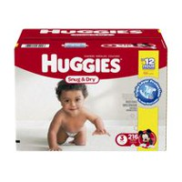 Huggies Snug & Dry Diapers Economy Plus Size 3