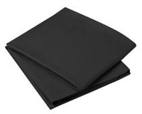 Mainstays Super Soft Microfiber Pillow Cases Black