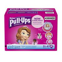 Pull-Ups® Training Pants with Cool & Learn® Giga Pack 3T-4T Girls