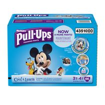 Pull-Ups® Training Pants with Cool & Learn® Giga Pack 3T-4T Boys