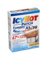 Icy Hot Extra Large Medicated Patch