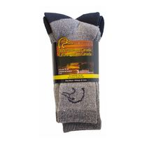 Ducks Unlimited Men's Wool Blend Crew Socks