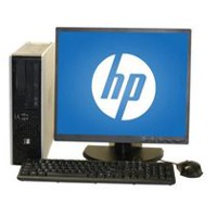 "Refurbished HP 7900 SFF with C2D 2.8GHz + 19"" LCD + Wi-Fi"