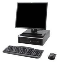 "Refurbished HP 6200 SFF with i3 3.1GHz Processor + 19"" LCD + Wi-Fi"