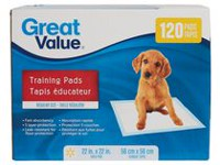 Great Value Regular Puppy Training Pads