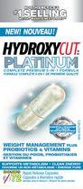 Hydroxycut Platinum Weight Management plus Probiotics & Vitamins, 72ct
