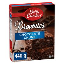 Betty Crocker™ Chocolate Chunk Brownies Mix