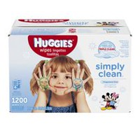 Huggies® Simply Clean Fragrance Free Baby Wipes