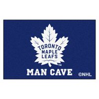 NHL Toronto Maple Leafs Man Cave Rug