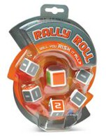 Blue Orange Rally Roll Dice Game