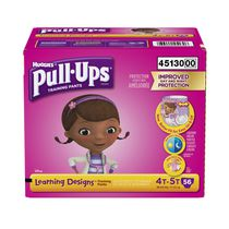 Pull Ups Girls' Learning Designs Training Pant Giga Pack 4T-5T