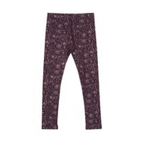 George Girls' Embellished Leggings Purple L