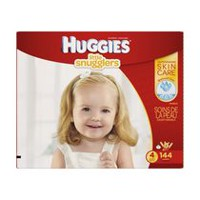Huggies Couches Little Snugglers Economy Plus Taille 4