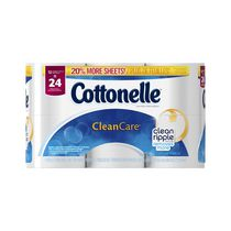 Papier hygiénique Clean Care de Cottonelle en rouleau double