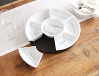hometrends 6 -piece Lazy Susan Set