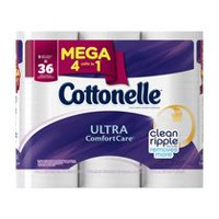 Cottonelle Ultra Comfort Care Mega Roll Toilet Paper