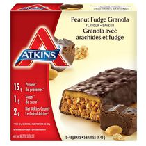 Atkins Peanut Fudge Granola Flavoured Bars