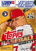 Topps 2016 Series 2 Baseball Sports Cards, Hanger Box - English
