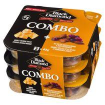 Black Diamond Combos Marble Cheese Snacks