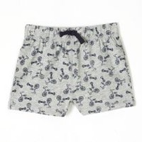 George Toddler Boys' Jersey Shorts Grey 2T