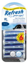 Refresh Vent Stick 6pk - New Car/Cool Breeze