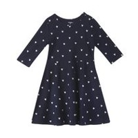 George Girls' Skater Dress Maritime Blue M