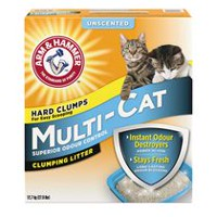 ARM & HAMMER™ Multi-Cat Fragrance Free Clumping Cat Litter