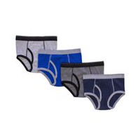 George Boys' 4 Piece Briefs M