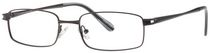 Buxton BX13 Men's Black Eyeglasses