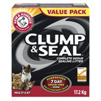 ARM & HAMMER Clump and Seal Multi-Cat Clumping Cat Litter