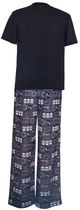 Star Wars Boys' 2-Piece Pyjama Set Black S(7/8)