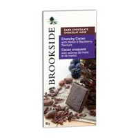 BROOKSIDE Dark Chocolate Crunchy Cacao with merlot and blackberry flavours