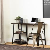 South Shore Evane Industrial Desk with Storage
