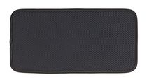 Schroeder & Tremayne Glassware Drying Mat, Black