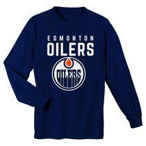 OuterStuff Edmonton Oilers Newborn Game Nap Teddy Fleece Bunting Pram