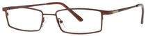 Buxton BX18 Men's Black Eyeglasses