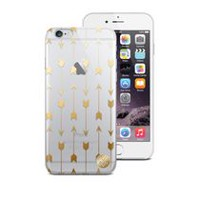 Macbeth Gold Arrow Clear Case for iPhone 6