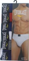 Everlast Men's Briefs - Pack of 6 Navy M