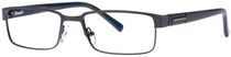 Buxton BX22 Men's Brown Eyeglasses