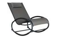 Vivere Aluminum Wave Rocker Black chrome