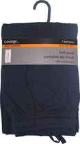 George Jersey Lounge Knit Pant Navy S