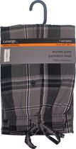 George Men's Woven Pant Black XL