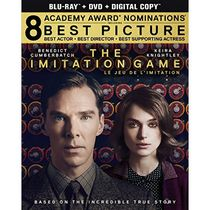 The Imitation Game (Blu-ray + DVD + Digital Copy) (Bilingual)