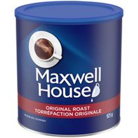 Café moulu Maxwell House de torréfaction originale